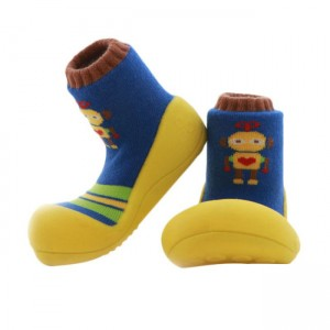 attipas-baby-shoes-robot-yellow